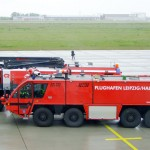 Firetruck at Leipzig Airport