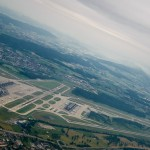 ZRH Airport at climb out